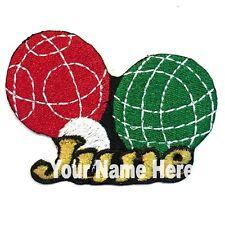 Bocce Custom Parche para Planchar con Nombre Personalizado Gratis
