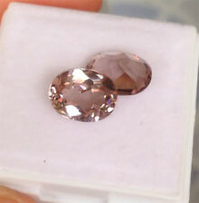4.60 ct. 9x7 mm. Double! Oval Light Purple Sapphire Gemstone, Excellent Cut AAA+
