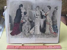Vintage Print,AMATEUR ARTIST,Fashion,Parisiennes,Petersons
