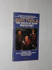 Star Trek 2 The Wrath Of Khan Photostory Paperback Book. 1982.