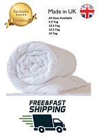 HOTEL QUALITY COTTON DUVET 10.5 13.5 TOG SINGLE DOUBLE SUPER KING BED SIZE QUILT