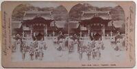 Giappone Japan Osua Nagasaki Foto Stereo Vintage Citrato