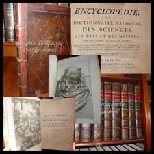 Encyclopedie Diderot/d ' Alembert 1758 Lucca Enzyklopädie 28 Voll Bretter