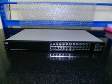 More details for cisco sg200-26p 26 port gig smart switch 12 port poe and 2 combo ports.
