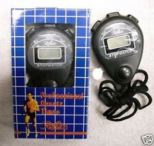 PROFESSIONAL STOP WATCH NEW BATTERY INCLUDED SPORT TIMER
