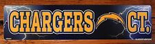Licensed Street Sign San Diego Chargers Ave NFL Football Sports League