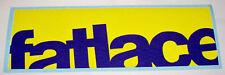 Fatlace tagliato Giallo & Blu JDM/EURO Decalcomania Sticker