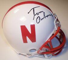 Tom Osborne Autographed Nebraska Cornhuskers Riddell Mini Helmet