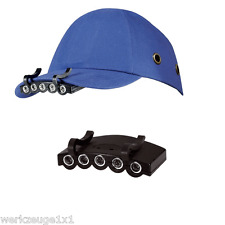 LED Gorra béisbol lámpara Linterna De Cabeza Frontal casco trabajo 5 casquillo