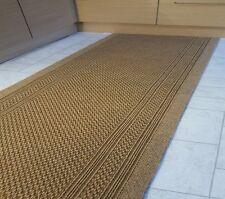 """BL1 Sand Heavy Duty Non Slip Rubber Backed Hall Runner Barrier Mat 2""""2 x 6ft"""