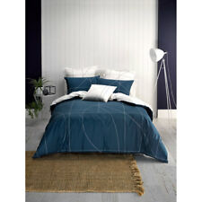 Deco Linen House Court King Bed Size Duvet Doona Quilt Cover Set