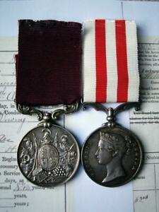 Victorian Indian Mutiny & LS&GC medal Sgt Downey 82nd Rgt Cawnpore 1857 born Ayr