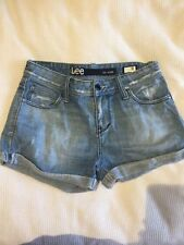 Lee Mid-Rise Denim Shorts for Women