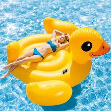 Intex 56286 Badeinsel Ente Schwimmliege Pool Lounge Wasserliege Luftmatratze