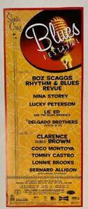Santa Cruz Blues Festival Concert Poster 2000