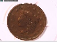 1836 Large Cent PCGS VG 08 27870891 Video