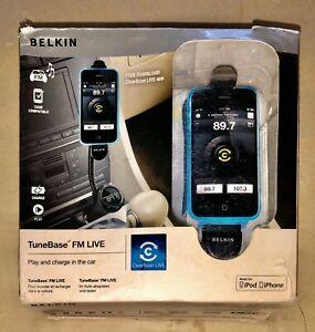 Belkin TuneBase FM Transmitter/Car Handsfree/Charger/Holder for iPhone 4/4S/3G