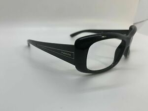 Prada Designer Glasses Frames 1AB- 1A1 57mm 16mm 135mm Black
