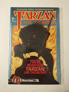 MALIBU COMICS TARZAN THE WARRIOR Issue  #1 OF 5    1992