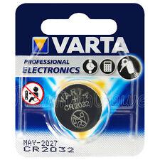 1 x Varta Lithium CR2032 battery 3V Coin cell DL2032 BR2032 Blister EXP:2027