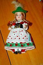 """Schneider Porcelain Approx 6"""" Vintage Doll-Used"""