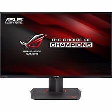 "ASUS Rog PG27AQ 27"" 4k UHD 4ms IPS LED Gaming Monitor G-sync Speaker HDMI DP"