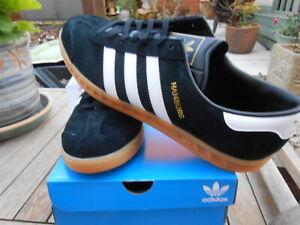 Adidas Black Hamburg size 9