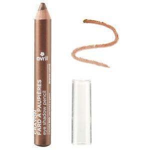 Crayon fard à paupières Bronze cuivré Certifié Bio Cosmétique AVRIL