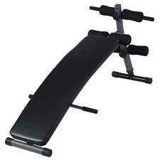 Sit Up Utility Bench Incline Decline Arc Shape Curved Exercise Strength Training