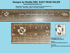 DBS EASY READ RULER - Measurements at a Glance