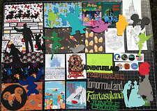 Disney World MAGIC KINGDOM Park Scrapbook Kit! Project Life Paper die cuts