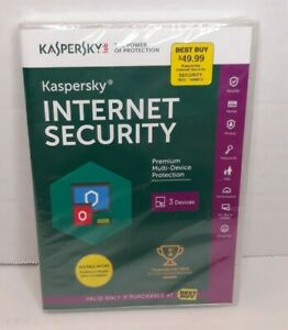 KASPERSKY Internet Security Protection - 3 Devices