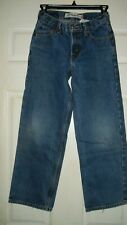Vintage Levi's 12 REGULAR Jeans 550 RED Tab Relaxed Light Size 26X26 1/2