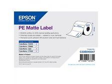 Epson Rollo de etiquetas C33S045547 plástico 102x51mm Mate Revestido