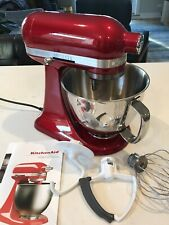 KitchenAid Artisan Mini Stand Mixer, 3.5 quart, Candy Apple Red