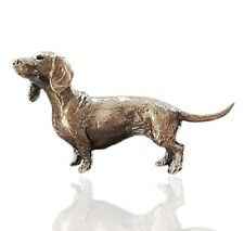 Bronze Dachshund Dog - Butler & Peach 2082