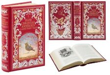 Hans Christian Andersen Classic Fairy Tales ~ New Leather Bound ~ Illustrated