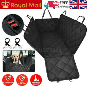 Protective Dog / Pet Cover Blanket For Rear Car Seat Oxford Material UK