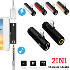 Splitter  for iPhone X XS MAX XR 8 Plus  2 in1 Lightning Adapter