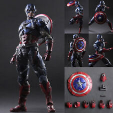 Marvel Captain America SquareEnix Variant Play Arts Kai Figure for Gift