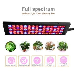75 LED Grow Light Pflanzenlampe Gewächshaus Lamp Panel Vollspektrum Glow Lampe