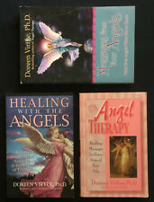 3x Doreen Virtue Books, Messages From Your Angels, Healing with, Angel Therapy