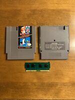 Super Mario Bros Duck Hunt Nintendo Entertainment System NES Game Authentic Fast