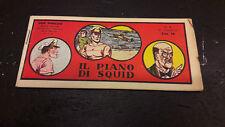 """Don Winslow #6 """"Il Piano di Squid"""" striscia 1948 edizioni Milano"""