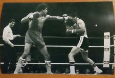 Salvador sanchez vs rocky garcia Boxing action photo