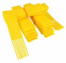 Yellow Sweeper Brushes Fits WESTWOOD COUNTAX Lawn Tractor Pack Of 54