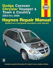 Dodge Caravan, Chrysler Voyager and Town and Country 2003 Thru 2006 by John H. H