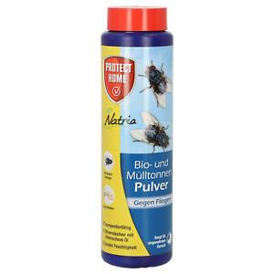 Protect Home Natria Bio & Mülltonnen Pulver 500 g Fliegenmittel Maden Abwehr