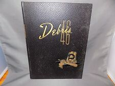 "Purdue University, West Lafayette, Indiana, ""Debris"" 1946 Yearbook"