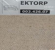 Ikea EKTORP Bezug für 2er Sofa mit Recamiere Risane natur 002.426.07 Neu OVP